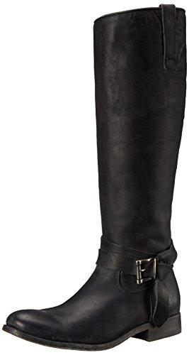 Frye Melissa Knotted Tall Femmes US 6.5 Noir Botte