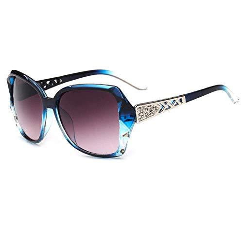 OULN1Y Sport Sonnenbrillen,Vintage Sonnenbrillen,Vintage Big Frame Sunglasses Women Gradient Driving Sun Glasses Uv400 Feminino
