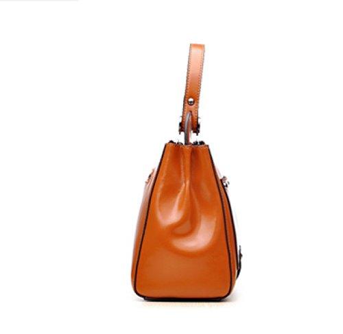 Frau Fashion Retro Portable Schulter Diagonal Paket 8
