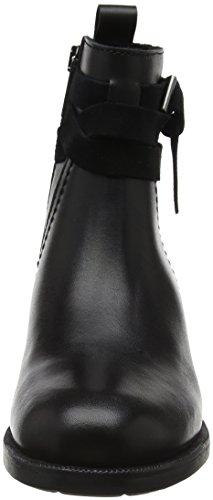 Marc O'Polo Damen Bootie Schlupfstiefel Schwarz (Black)