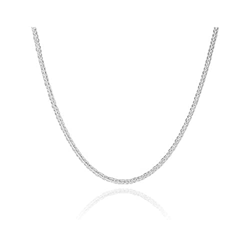 wide hot necklace flat plated pick sale itm chain snake solid silver chains length