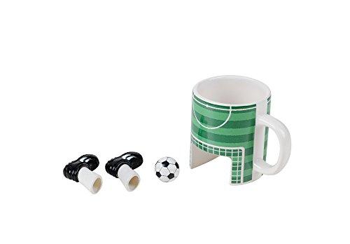 Winkee Sport Taza de café de fútbol & Incluye Guantes