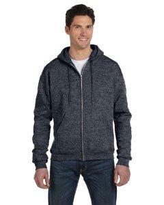 Adult Hooded Fleece (Champion Adult Eco Full-Zip Hooded Fleece,Charcoal,XXX-Large)