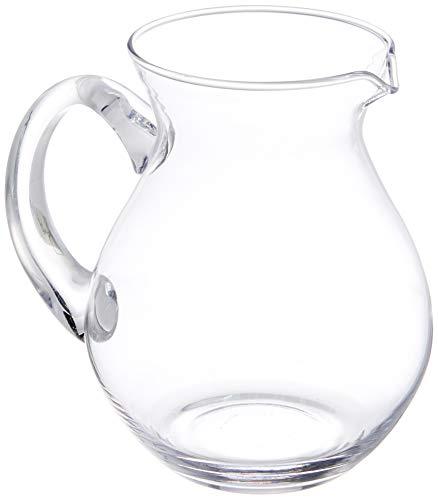 Kela Saft-/Wasserkrug aus Glas, Roberta, 1 L, 12154 -