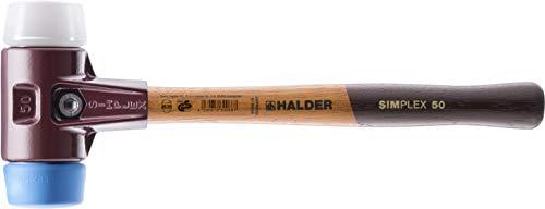 SIMPLEX-Schonhämmer, mit Stahlgussgehäuse und hochwertigen Holzstiel | Ø=50 mm | 3017.050