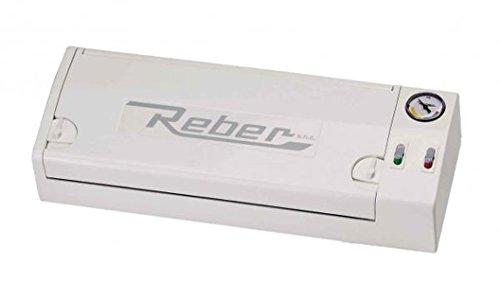 Reber REB9700N Macchina per Il Sottovuoto Family, Grigio, Acacia
