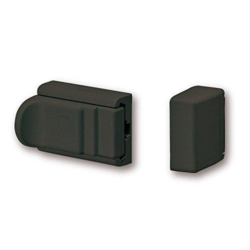 BURG-WÄCHTER Tür- und Fenstersicherung, Beidseitig verwendbar, Komfort-Riegel R 60 B SB, Braun