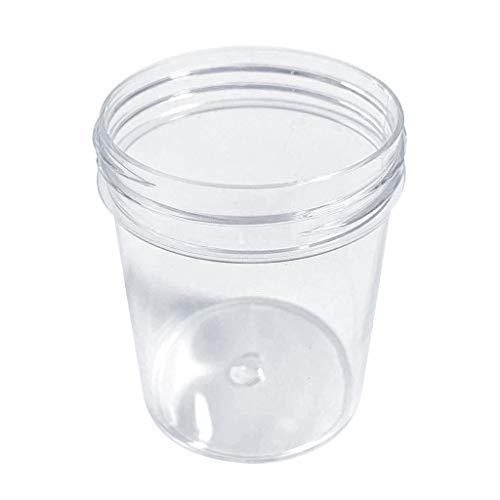 MA87 Nagel Box Container für Slime Clay Makeup Jar Kosmetiktopf Creme Flasche