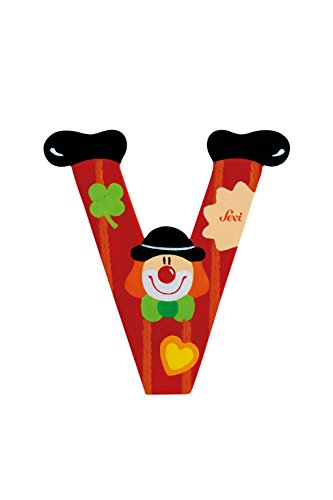 Trudi 81758 - Buchstabe Clown V