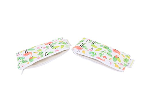 itzy-ritzy-snack-happens-mini-reusable-snack-and-everything-bags-flamingo-flock-pack-of-2