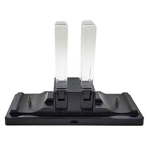 babysbreath17 Ersatz für Nintendo Nintend Schalter NS Joy-Con Pro 6 in 1 Controller aufladenaufladeeinheits Dock Station Stand - Bewegen Die Sie Einfach Ps4