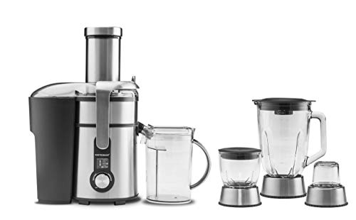 GASTROBACK 40152 Design Multi Juicer Digital Plus, Edelstahl, Silber