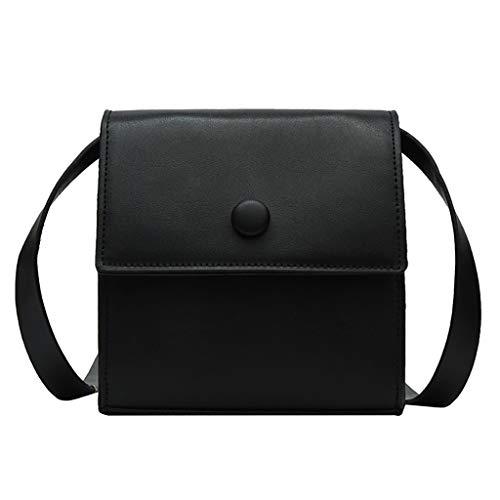 Mitlfuny handbemalte Ledertasche, Schultertasche, Geschenk, Handgefertigte Tasche,Frauen Joker Crossbody Fashion Button One-Shoulder Kleine quadratische Tasche