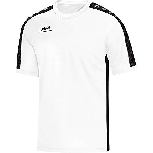 JAKO Damen T-Shirt Striker, weiß/schwarz, 42-44