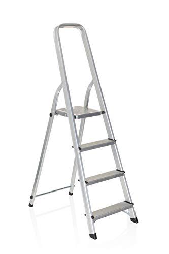 Hjh OFFICE 801101 escalera plegable SOLID II aluminio