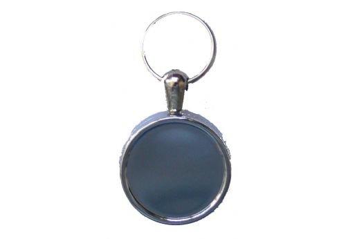 Pull Schlüssel Schlauchtrommel 60cm einziehbar Draht Recoil Metall Chrom ID Schlüsselanhänger Schlüsselanhänger 30mm