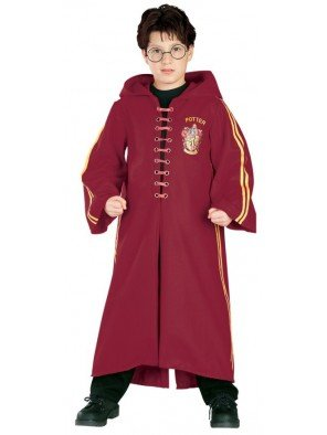 Rubies Harry Potter Deluxe Quidditch Robe Costume 8-10yrs