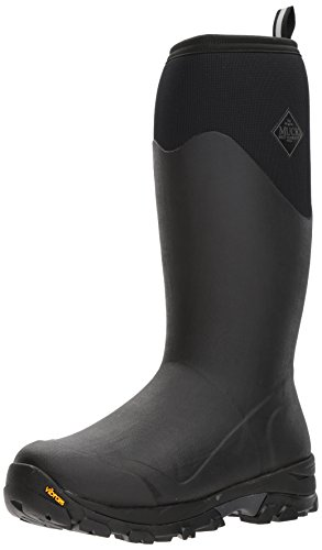 Muck Boots Arctic Grip Tall Wellies UK 8 Black