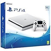 Sony PlayStation 4 500GB - Glacier White