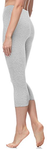 Merry Style Damen Leggings 3/4 MS10-144 Melange