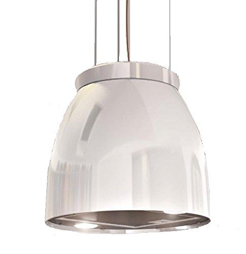 Bielmeier V875705 Inselhaube / 31,6 cm/LED-Beleuchtung/weiß