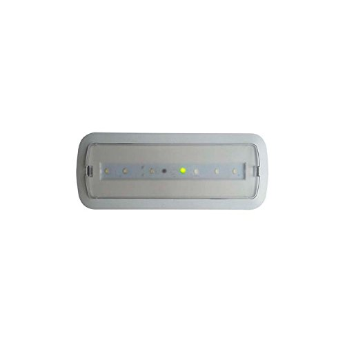 Lumière d'urgence LED 3 W + Kit plafond & lumière permanent LEDKIA
