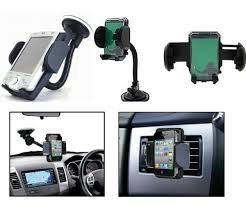 Windshield Mount Stand Car Home Desk Cradle A/C Holder Suction for Mobile Phone Single.