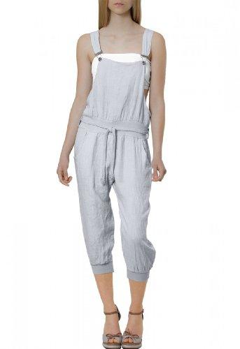 CASPAR Fashion - Peto - para mujer Gris gris claro (grey 801)