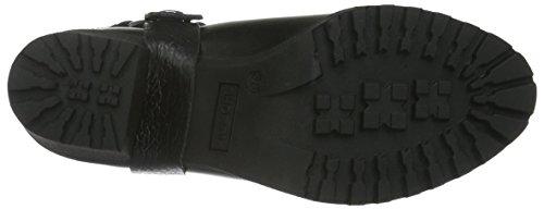 Shoe Biz Bella, Stivali da Motociclista Donna Nero (Velvet Black)