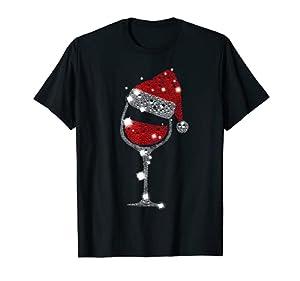 Camiseta de Navidad con copa