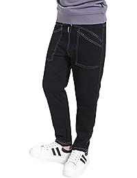 Liangzhu Ragazza Ragazzi Pantaloni da Jogging da Sportivi Casual Cintura  Elastica Pantaloni con Coulisse 15369cb0f23