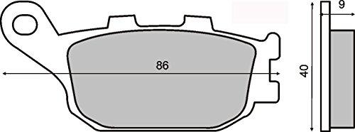 Pastiglie Freno Organische Posteriore YAMAHA Mt-09 Tracer 900 2015-2015