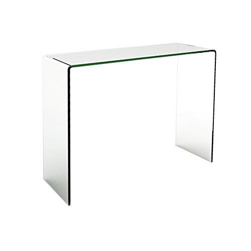 designement Joan Konsole Glas transparent 90x 35x 75cm