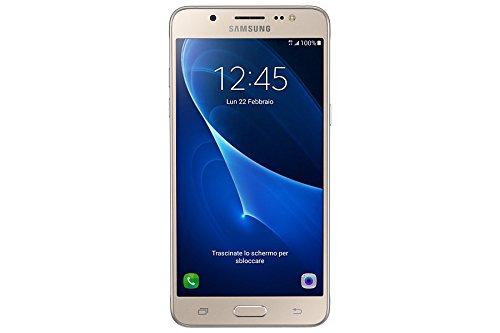 Samsung Galaxy J510 Smartphone, 16 GB, Oro [Italia]