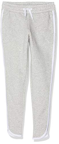 Puma Mädchen Alpha Sweat Pants TR G Jogginghose, Light Gray Heather, 116
