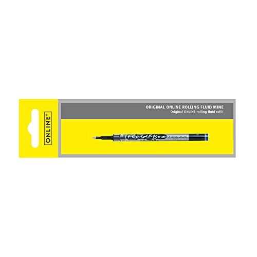 Online Schreibgeräte 40017/3 - Rolling Fluid Mine, Strichstärke 0,6mm, Schreibfarbe blau, 1 Stück -