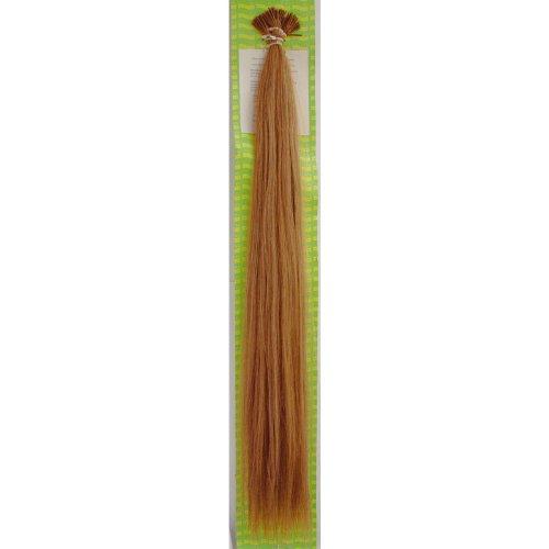 'Dream Hair Stick Extensions 100 Pieces Str 22 : 12 22/56 cm Human Hair Extensions de cheveux Brun Clair (Extension de cheveux 56 cm 100s)