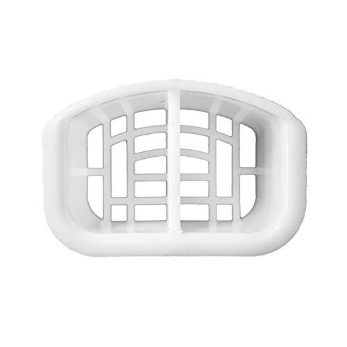 Haarsieb/Haarfilter (Kompatibel mit Viega Tempoplex 90mm Ablaufgarnitur Modellnummer 6956EX)