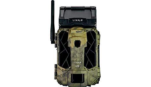 Spypoint Link-S (Non Verizon; USA) 4G LTE Cellular MMS Blackout IR Infrarot Solar Panel Trail Kamera mit 16 GB SD Karte