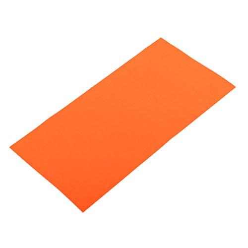Non-brand Outdoor Selbstklebende Reparatur Patch Kit Klebeband Zelt Jacke Luftmatratze - Orange (Klebeband-jacke)
