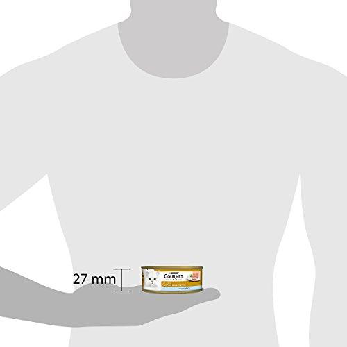 Gourmet Gold Katzenfutter Feine Pastete mit Thunfisch, 12er Pack (12 x 85 g) Dosen - 3