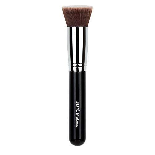 JDK Brosse de Maquillage pour grande Couverture Poudre minérale Fusion de fond de teint Brosse pour le visage de polissage