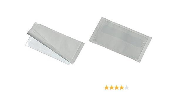 DURABLE Selbstklebe Taschen Pocketfix 62 x 93 mm Transparent Polyvinylchlorid 6