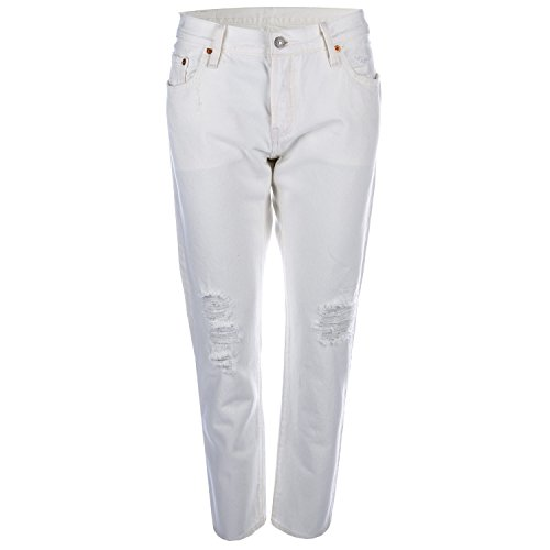 womens-levis-womens-501-ct-white-tumble-jeans-in-white-28r