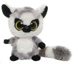 yoohoo-friends-pluschtier-affe-lemur-lemmee-grauer-katta-kuscheltier-ca-18-cm