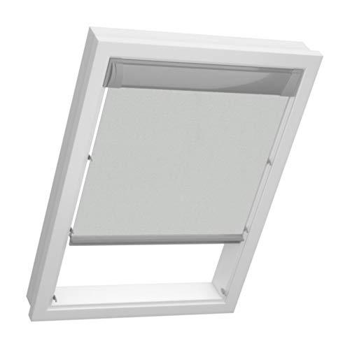 sun collection Dachfenster Thermo Rollos für Velux Fenster – Sonnenschutz – Profile in Silber