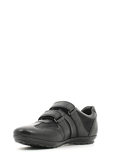 Geox - U Symbol D, Sneaker Uomo Nero