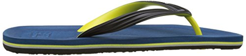 Quiksilver Haleiwa, Tongs Homme Multicolore (BLACK/BLUE/GREEN)