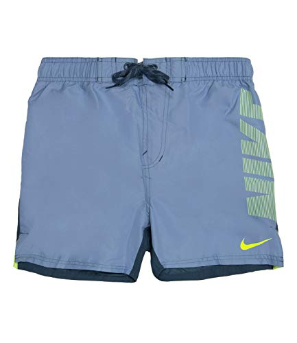 Nike Swim Herren Sportbadehose Rift Vital grau L