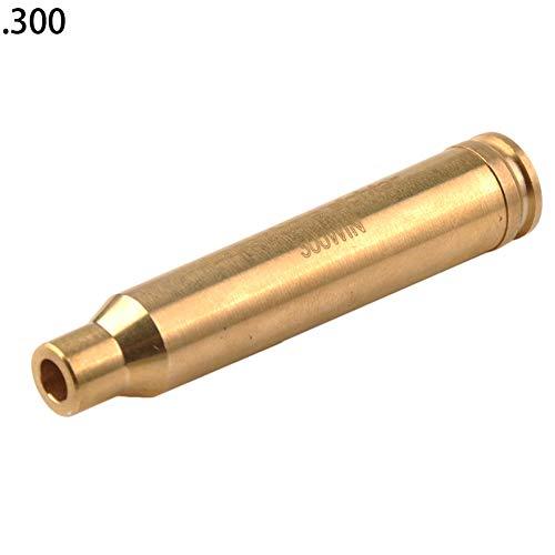 DarweirlueD Sport & Unterhaltung Rotpunktmessing Boresight Cartridge Bohrung Zielfernrohr Jagd taktisches Werkzeug, einfarbig.300